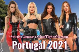 Going to Portugal - Lauren Louise, Louise, Sophie B (Saffron) and Frankie Lain